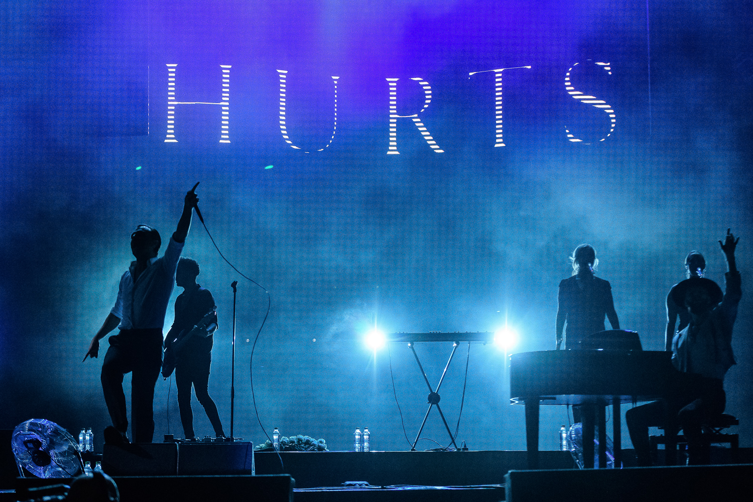 Hurts @ Bucharest, 2018