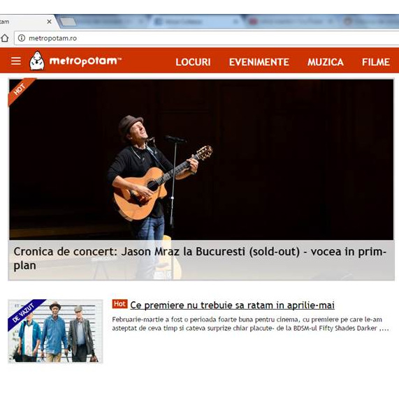 My Jason Mraz photos on www.metropotam.ro